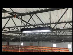 Lumière - rack - entrepôt - led - lelumnaireled.com