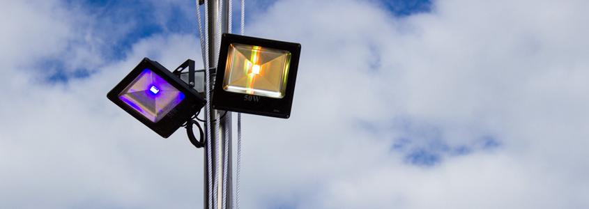Eclairage LED restaurant spectable